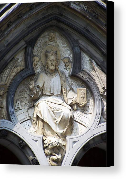 Ireland Canvas Print featuring the photograph Alpha And Omega by Teresa Mucha