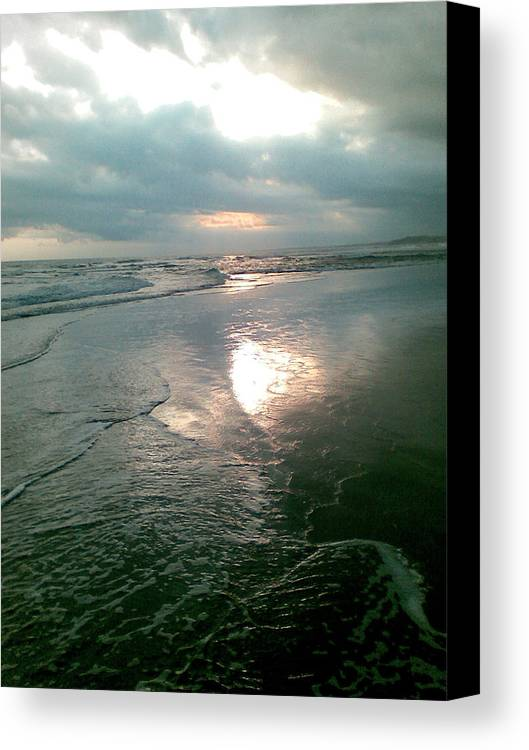 Bali Canvas Print featuring the photograph Bali Dusk by Mark Sellers