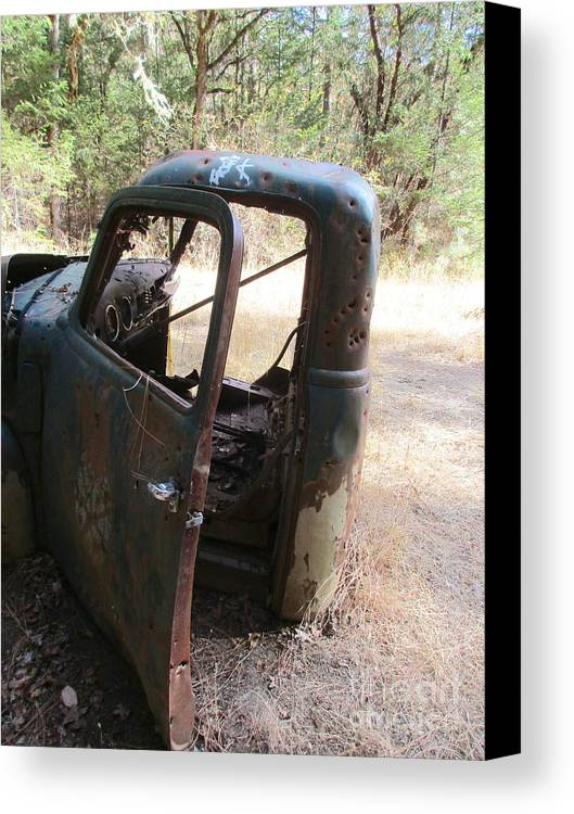 Rust Canvas Print featuring the photograph Better Days by Marie Neder