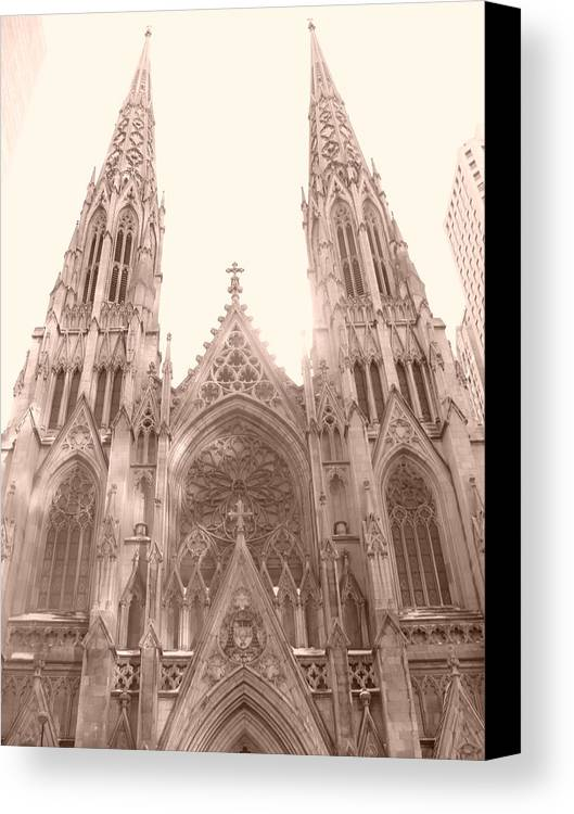 Church Canvas Print featuring the photograph Crown Me by Kate Collins