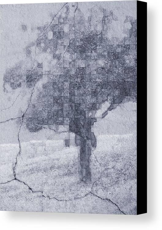 Blue Canvas Print featuring the photograph Deciduous Blue by Tingy Wende