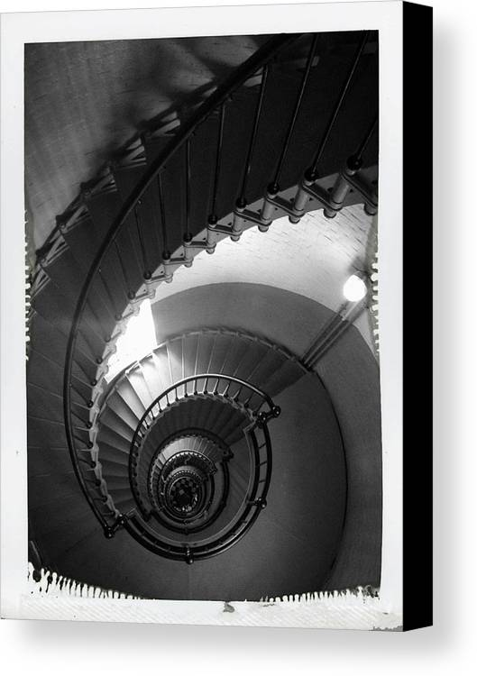 Descending Canvas Print featuring the photograph Descending by Alice Kelsey