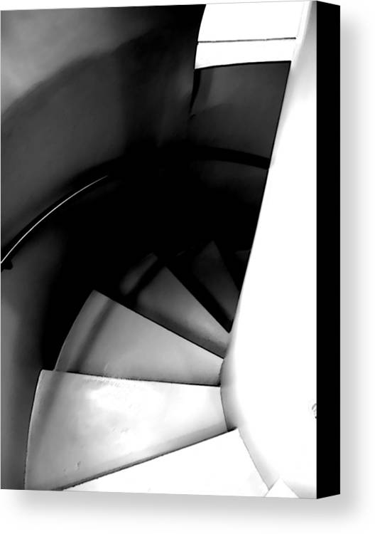 Steps Canvas Print featuring the photograph Descent by Jim DeLillo