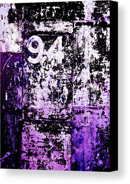 Abstract Canvas Print featuring the photograph Door 94 Perception by Bob Orsillo