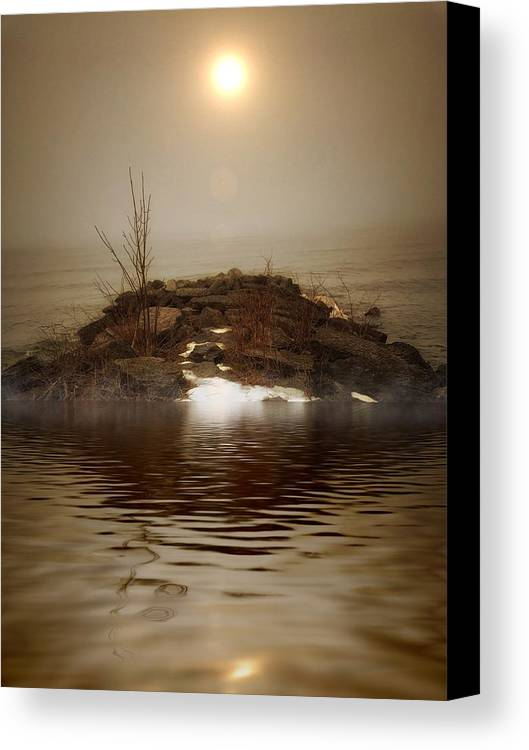 Lake Ontario Canvas Print featuring the photograph Euphoria by Allyson Marie