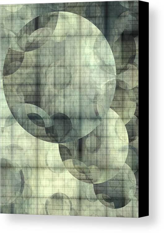 Abstract Canvas Print featuring the digital art Expansion by Ian Duncan Anderson