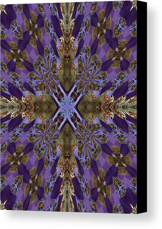 Christmas Canvas Print featuring the photograph Graceful And Devine by Ricky Kendall