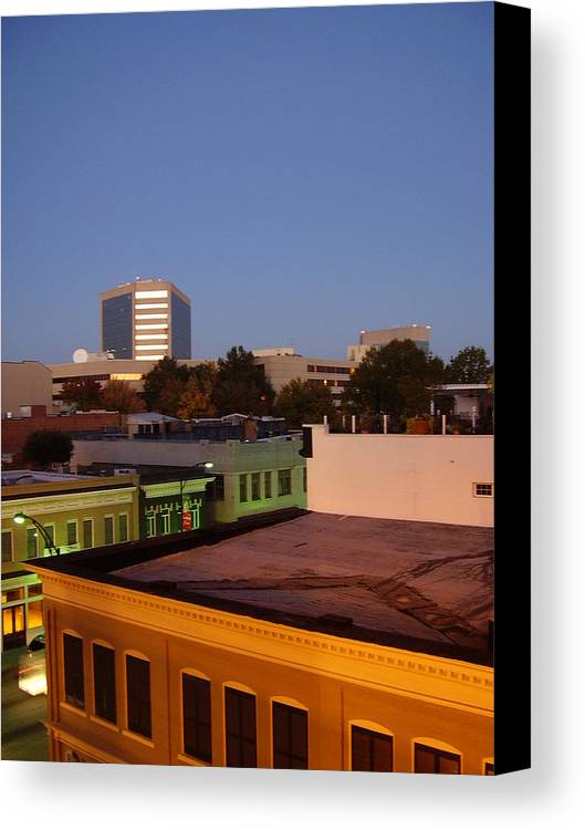 Greenville Canvas Print featuring the photograph Greenville by Flavia Westerwelle