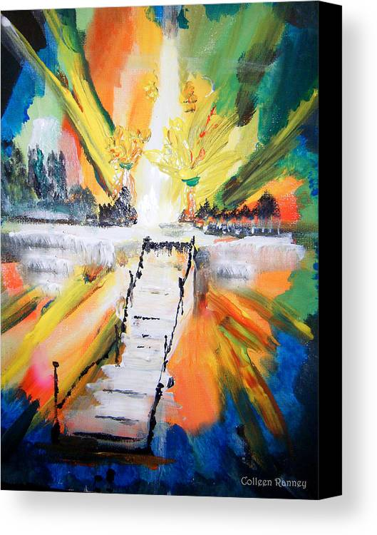 Healing Canvas Print featuring the painting Healing by Colleen Ranney