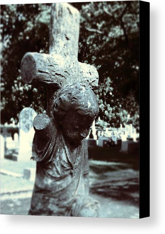 Gothic Canvas Print featuring the photograph Innocence by Jessica Burgett