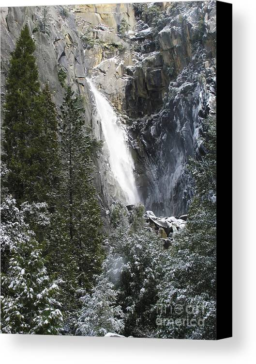 Yosemite Canvas Print featuring the photograph Just Another Morning In Yosemite by Stan and Anne Foster
