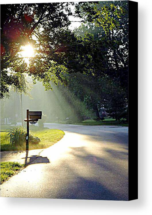 Guy Ricketts Art And Photography Canvas Print featuring the photograph Light The Way Home by Guy Ricketts
