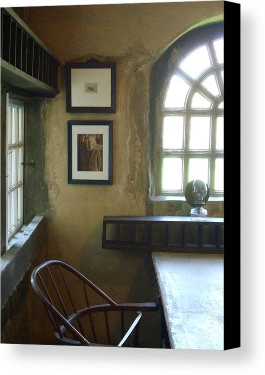 Mercer Canvas Print featuring the photograph Mercer by TL Randleman