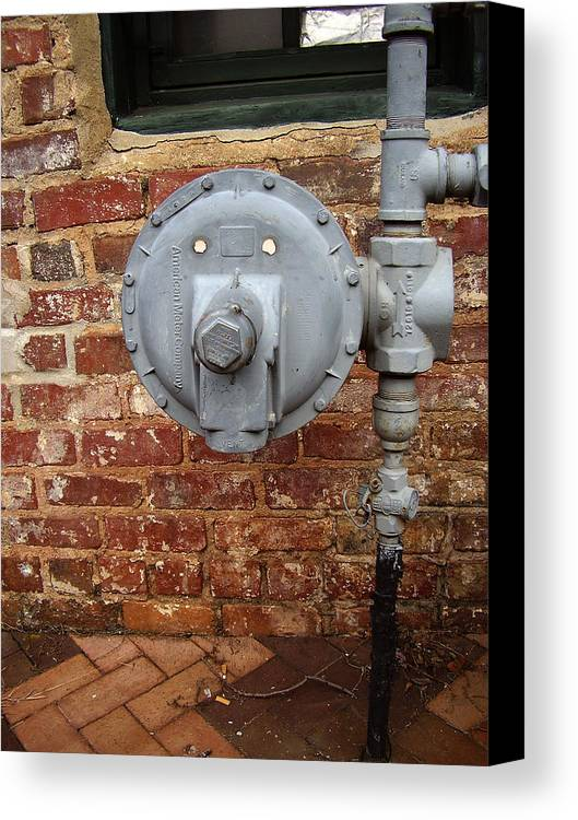 Meter Canvas Print featuring the photograph Meter In Athens Ga by Flavia Westerwelle