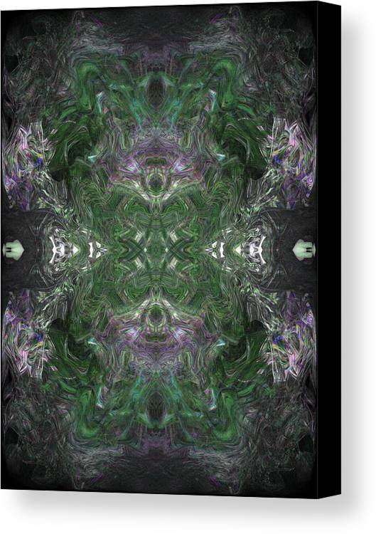 Deep Canvas Print featuring the digital art Oa-4437 by Standa1one