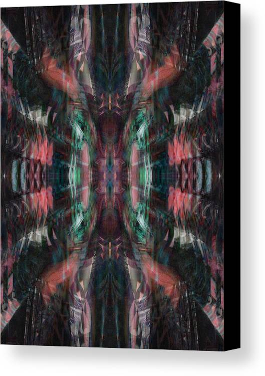 Deep Canvas Print featuring the digital art Oa-4438 by Standa1one
