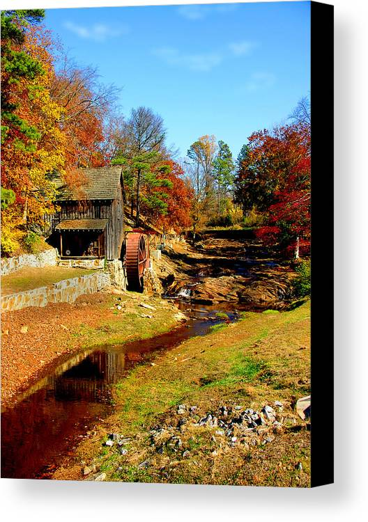Mill Canvas Print featuring the photograph Old Mill by Ralph Perdomo