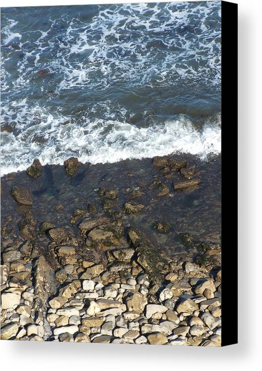 Ocean Canvas Print featuring the photograph Opponents by Shari Chavira