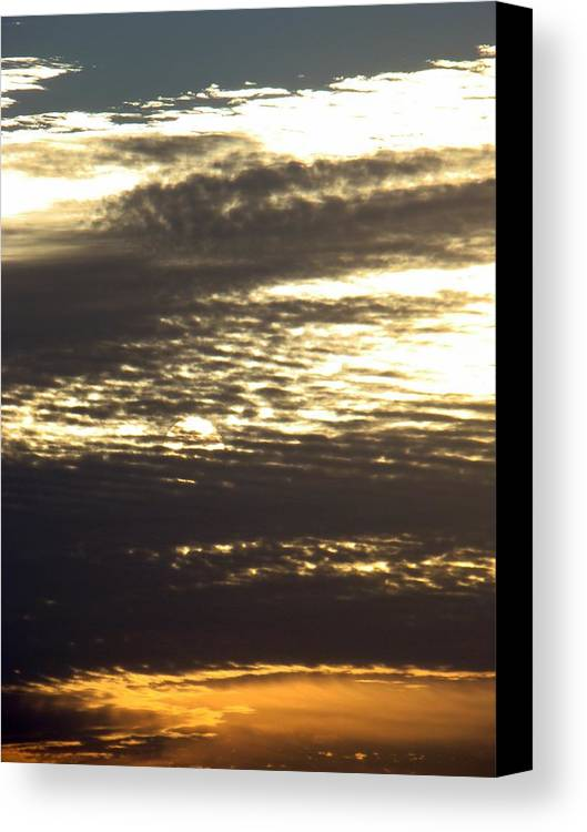Landscape Canvas Print featuring the photograph Painted Sky Three by Ana Villaronga