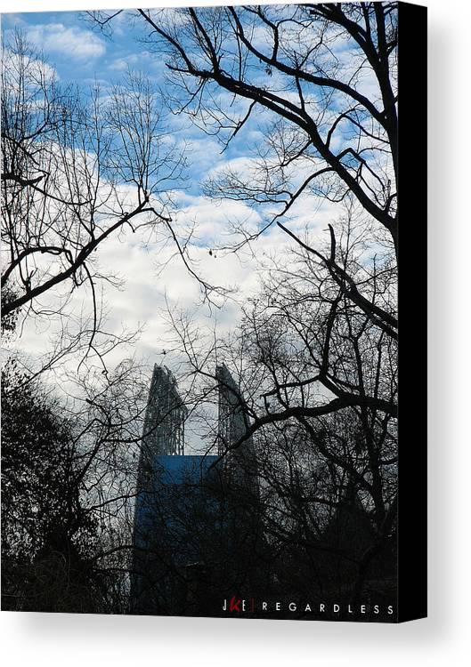 Sky Canvas Print featuring the photograph Regardless by Jonathan Ellis Keys