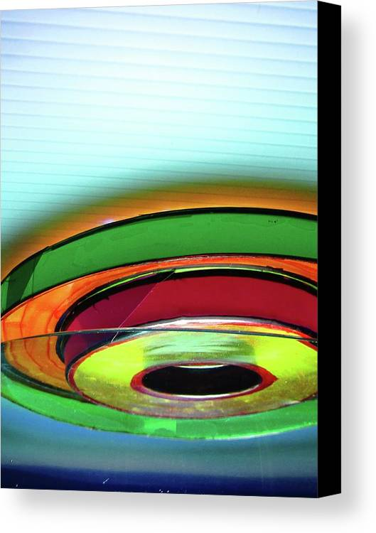 Abstract Canvas Print featuring the photograph Rings # 3 by Paolo Staccioli