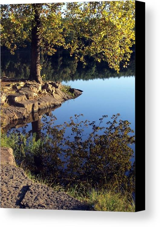 Landscape Canvas Print featuring the photograph Sanctuary by Angelina Vick