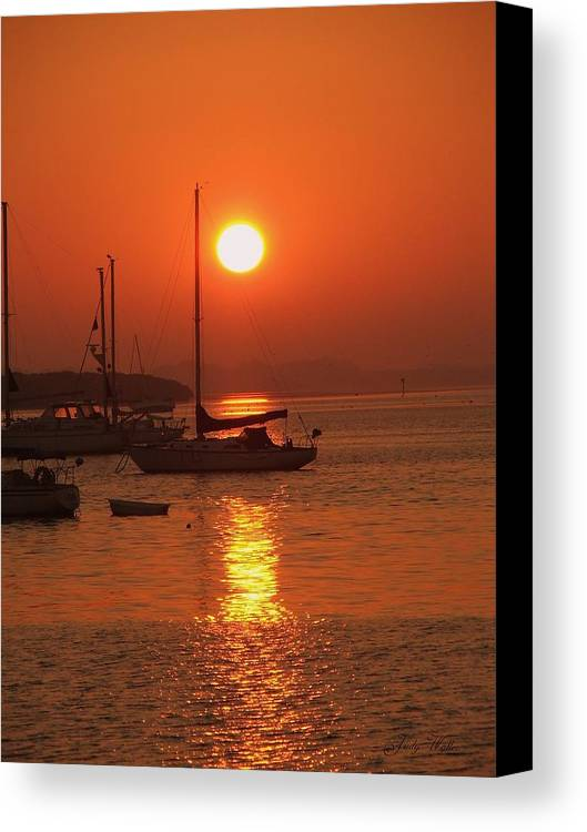 Peace Canvas Print featuring the photograph Solitude by Judy Waller
