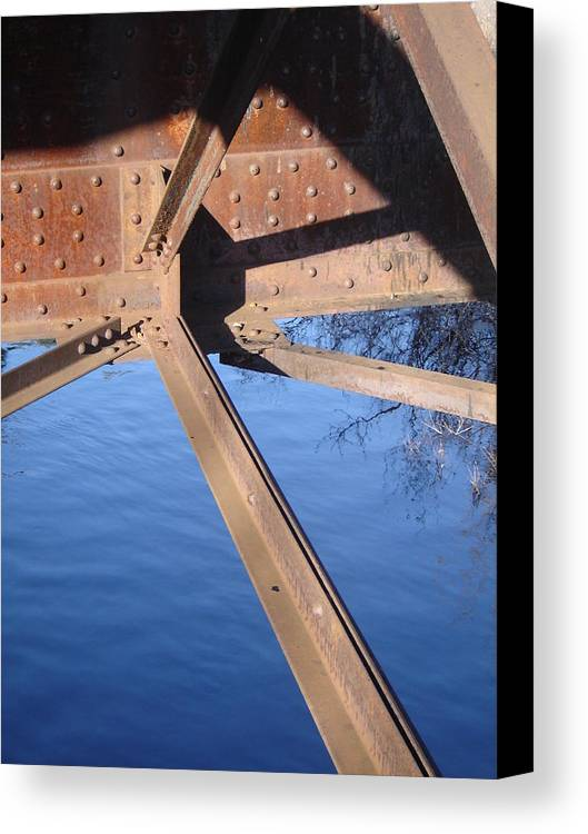 Architectural Canvas Print featuring the photograph Span by Dean Corbin