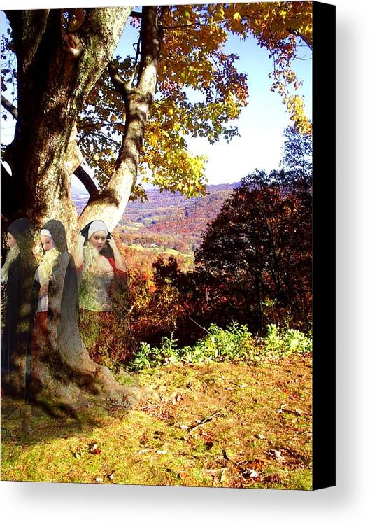 Fall Canvas Print featuring the photograph Spirits In View by Scarlett Royal