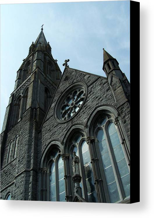 Ireland Canvas Print featuring the photograph St. Mary's Of The Rosary Catholic Church by Teresa Mucha