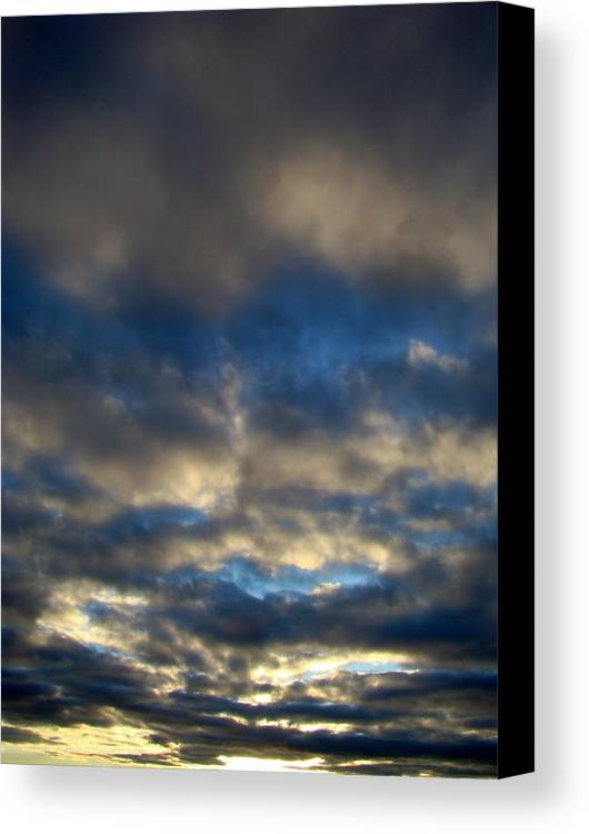 Sunset Canvas Print featuring the photograph Texas Big Sky Four by Ana Villaronga