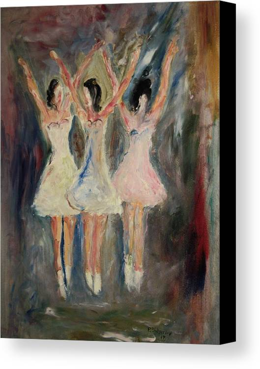 Dance Canvas Print featuring the painting The Nutcracker by Edward Wolverton