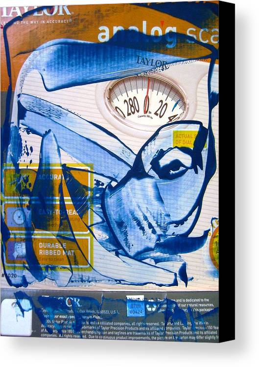 Abstract Canvas Print featuring the painting The Patriot Act by Bruce Combs - REACH BEYOND