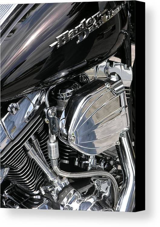 Motorcycle Canvas Print featuring the photograph Timeless by Jim Derks