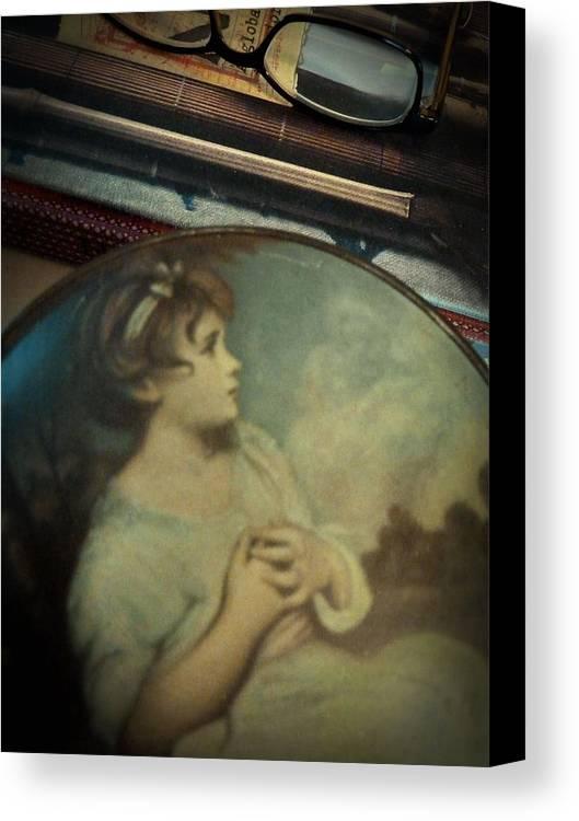 Antique Canvas Print featuring the photograph Treasure by Patricia Strand