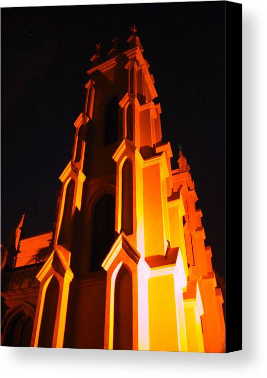Church Canvas Print featuring the photograph Trinity by Michele Caporaso