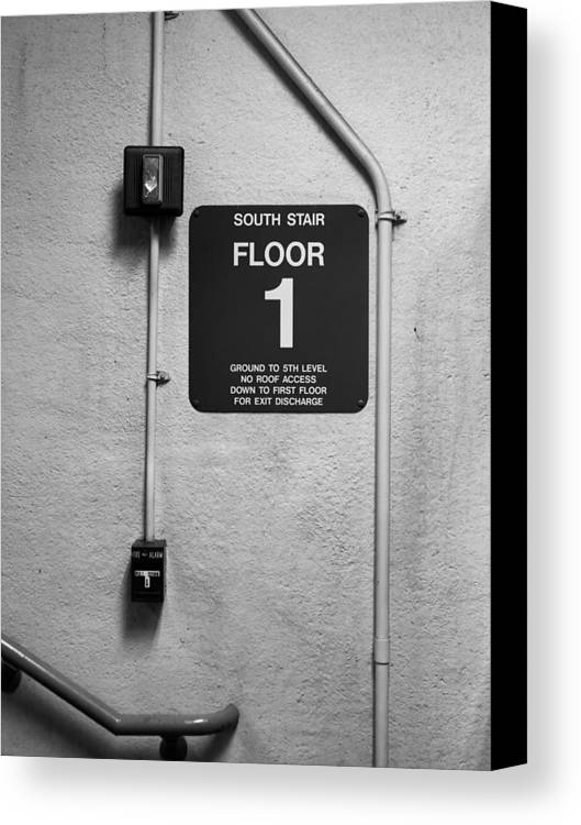 Door Canvas Print featuring the photograph Up To One by Bob Orsillo