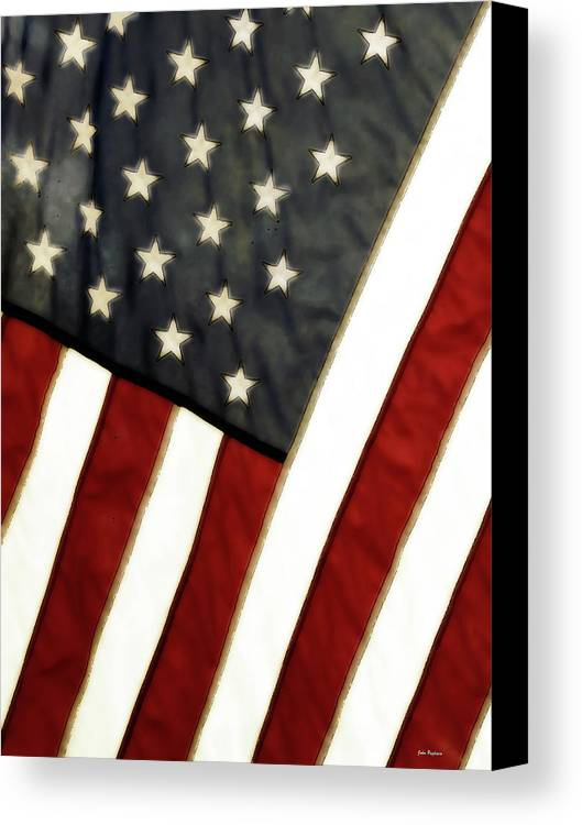 4th Of July Canvas Print featuring the photograph Variations On Old Glory No.4 by John Pagliuca