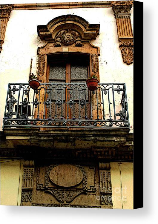 Darian Day Canvas Print featuring the photograph Ventana Grande by Mexicolors Art Photography