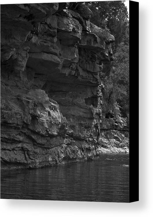Canvas Print featuring the photograph West-fork White River by Curtis J Neeley Jr