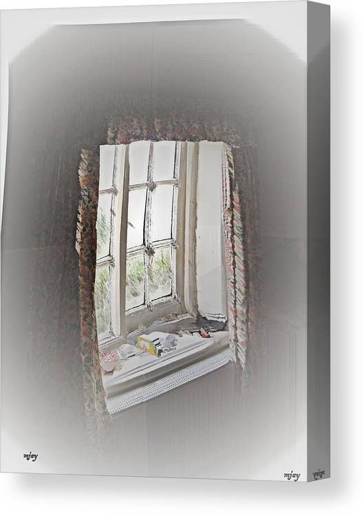 Canvas Print featuring the photograph Alice's Window by Martin Jay