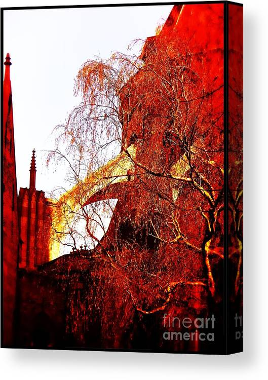Bruges Belgium Art Canvas Print featuring the photograph In Bruges by Joseph J Stevens