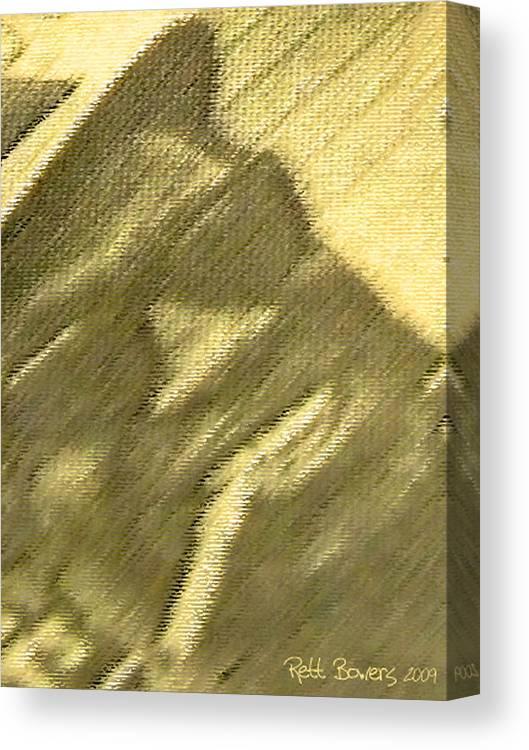 Lightning Hopkins Canvas Print featuring the photograph Lightnin' by Everett Bowers