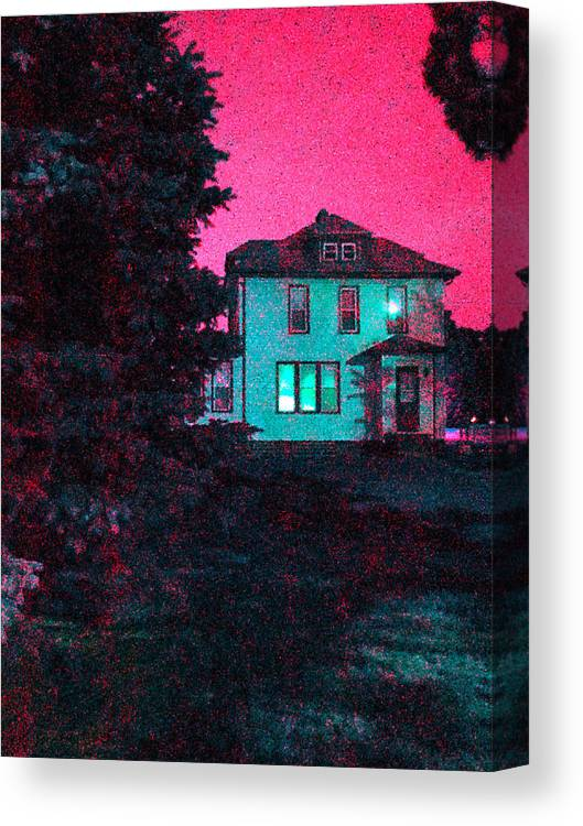 Guy Ricketts Photography And Art Canvas Print featuring the photograph Red Skies by Guy Ricketts