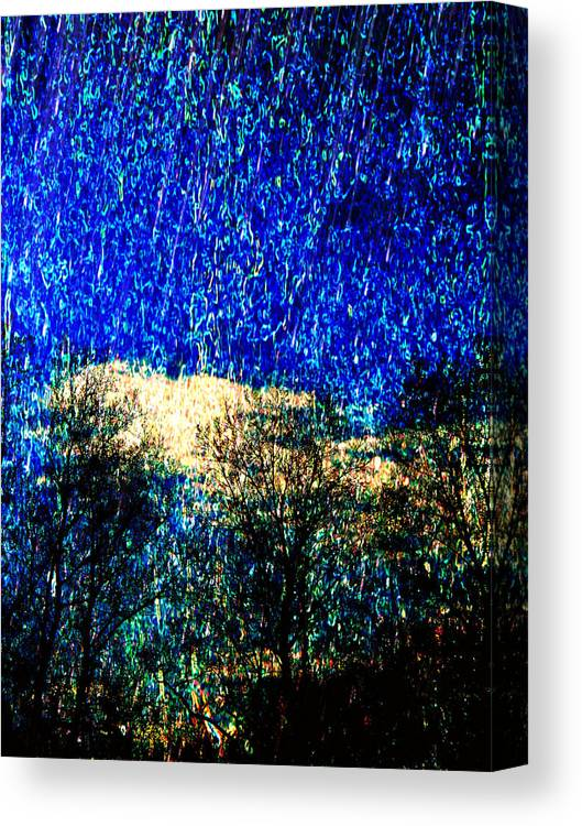 Stars Canvas Print featuring the digital art Sparks Of Light by Asith Wisidagama