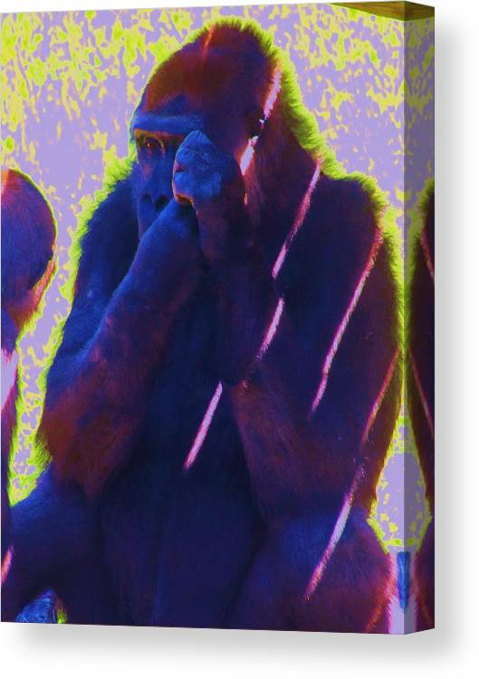 Ape Canvas Print featuring the photograph Go Ape by Todd Sherlock