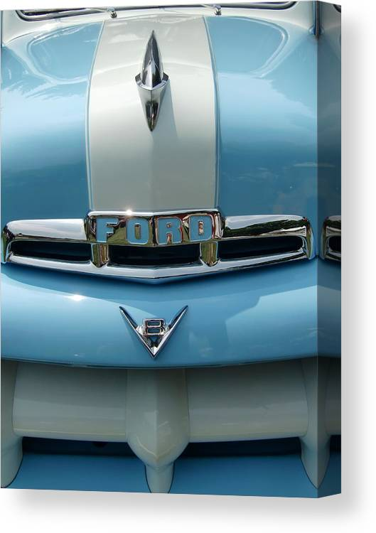 Vintage Cars Canvas Print featuring the photograph A-ford-able by Richard Mansfield