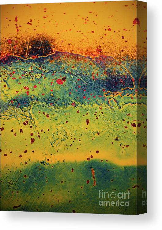 Urban Canvas Print featuring the photograph Aging In Colour 2 by Tara Turner