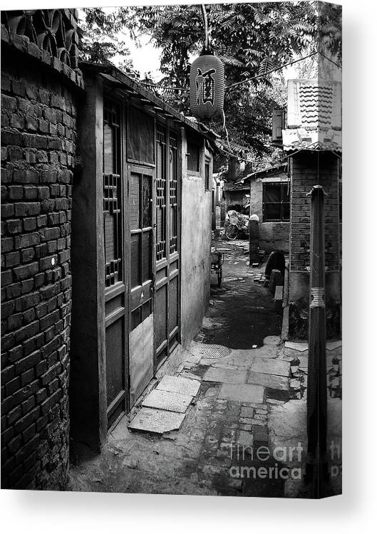 Beijing Canvas Print featuring the photograph Beijing City 6 by Xueling Zou