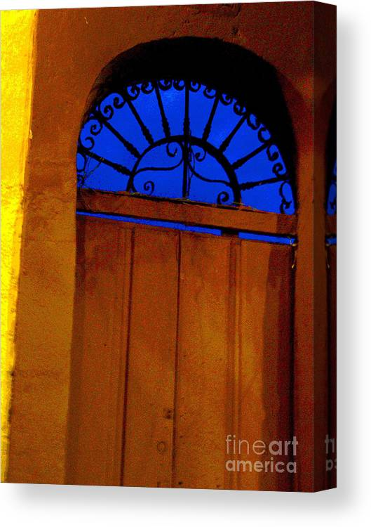Michael Fitzpatrick Canvas Print featuring the photograph Blue Twilight By Michael Fitzpatrick by Mexicolors Art Photography
